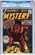 Silver Age (1956-1969):Mystery, Journey Into Mystery #57 (Marvel, 1960) CGC GD/VG 3.0 Off-whitepages....