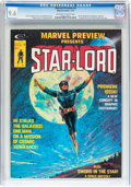 Magazines:Science-Fiction, Marvel Preview #4 Star-Lord (Marvel, 1976) CGC NM+ 9.6 Off-white towhite pages....