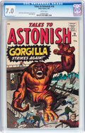 Silver Age (1956-1969):Horror, Tales to Astonish #18 (Marvel, 1961) CGC FN/VF 7.0 White pages....