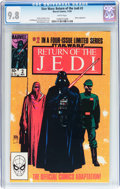 Modern Age (1980-Present):Science Fiction, Star Wars: Return of the Jedi #2 (Marvel, 1983) CGC NM/MT 9.8 White pages....