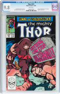 Modern Age (1980-Present):Superhero, Thor #411 (Marvel, 1989) CGC NM/MT 9.8 White pages....