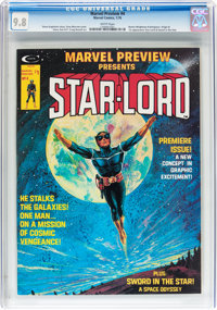 Marvel Preview #4 Star-Lord (Marvel, 1976) CGC NM/MT 9.8 White pages