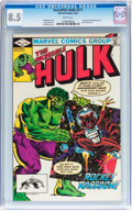 Modern Age (1980-Present):Superhero, The Incredible Hulk #271 (Marvel, 1982) CGC VF+ 8.5 White pages....