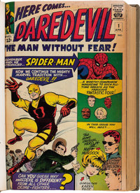 Daredevil #1-112 Bound Volumes (Marvel, 1964-74).... (Total: 7 Items)
