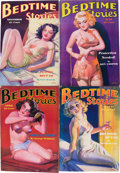 Pulps:Miscellaneous, Bedtime Stories Group (Detinuer Publishing Co., 1935-36) Condition: Average VG+.... (Total: 4 Items)