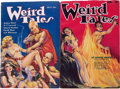 Pulps:Horror, Weird Tales Group (Popular Fiction, 1933-34) Condition: AverageFN-.... (Total: 2 Items)