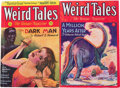 Pulps:Horror, Weird Tales Group (Popular Fiction, 1930-31) Condition: AverageFN-.... (Total: 2 Comic Books)