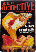 Pulps:Detective, All Detective Magazine - January '35 (Dell, 1935) Condition: FN-....