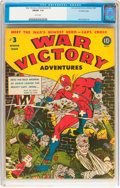 Golden Age (1938-1955):War, War Victory Adventures #3 Crowley Copy pedigree (Harvey, 1943) CGCFN/VF 7.0 White pages....