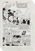 """Original Comic Art:Panel Pages, Dave Manak and Marie Severin Alf Annual #3 """"A Very ShuttleHint/Was This Trip NASA-sary?"""" Partial Story Original A... (Total:6 Original Art)"""