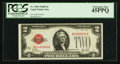 Small Size:Legal Tender Notes, Fr. 1503 $2 1928B Legal Tender Note. PCGS Extremely Fine 45PPQ.. ...