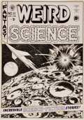 Original Comic Art:Covers, Al Feldstein Weird Science #11 Cover Original Art (EC,1952)....