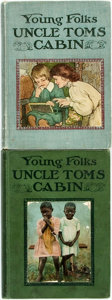 Books:Children's Books, [Harriet Beecher Stowe]. Young Folks' Uncle Tom's Cabin. NewYork and Boston: H.M. Caldwell, 1901. ... (Total: 2 Items)