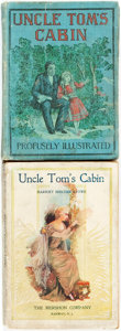 Books:Literature Pre-1900, Harriet Beecher Stowe. Two Different Editions of Uncle Tom'sCabin. Various publishers and dates. ... (Total: 2 Items)