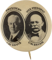 Davis & Bryan: An Exceedingly Rare 7/8-inch Jugate Variety for this Very Tough Ticket