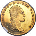 German States:Saxony, German States: Saxony. Friedrich August I gold 10 Taler (2 Augustd'or) 1817-IGS MS63 Prooflike NGC,...
