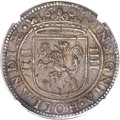 Netherlands East Indies, Netherlands East Indies: United Amsterdam Company Daalder of 8Reales 1601 MS63 NGC,...