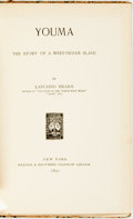 Books:Literature Pre-1900, [Slavery]. Lafcadio Hearn. Youma; the Story of a West-Indian Slave. New York: Harper & Brothers, 1890. First edi...