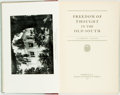 Books:Social Sciences, [Slavery]. Clement Eaton. Freedom of Thought in the Old South. Durham: Duke University Press, 1940. First editio...