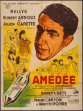"""Movie Posters:Foreign, Amedee (Les Films Carnot, 1950). French Grande (47"""" X 63""""). Foreign.. ..."""
