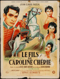 """Movie Posters:Foreign, Caroline and the Rebels (Gaumont, 1955). French Affiche (23.5"""" X 31.25""""). Foreign.. ..."""
