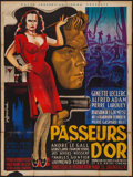 """Movie Posters:Foreign, Gold Smugglers (Pathe Consortium Cinema, 1948). French Grande (46.5"""" X 62.5""""). Foreign.. ..."""