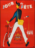 """Movie Posters:Foreign, Jour de Fete (Parafrance, R-1970s). French Grande (46"""" X 62""""). Foreign.. ..."""