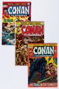 Bronze Age (1970-1979):Adventure, Conan the Barbarian Group (Marvel, 1972-85) Condition: Average VG+.... (Total: 39 Comic Books)