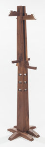 Post-War & Contemporary:Minimalismk, XUE WENJING (Chinese, 20th century). Coat Rack (from theWood Series), 2012. Walnut. 65-1/8 inches high (165.4 cm)....