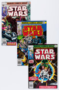 Bronze Age (1970-1979):Science Fiction, Star Wars Comics Group (Marvel, 1977-80) Condition: Average VF.... (Total: 36 )