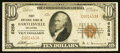 National Bank Notes:Oklahoma, Bartlesville, OK - $10 1929 Ty. 1 The Bartlesville NB Ch. # 6258. ...