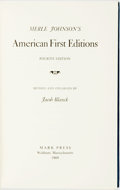 Books:Reference & Bibliography, [Merle Johnson.] Jacob Blanck, editor. Merle Johnson's AmericanFirst Editions. Waltham: Mark Press, 1969. Fourth Ed...