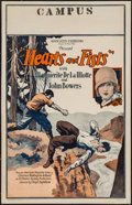 "Movie Posters:Adventure, Hearts and Fists (Associated Exhibitors, 1926). Window Card (14"" X22""). Adventure.. ..."