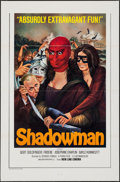 """Movie Posters:Mystery, Shadowman (New Line, 1975). One Sheet (27"""" X 41""""). Mystery.. ..."""