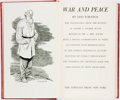 Books:Literature Pre-1900, Leo Tolstoy. War and Peace. New York: Heritage Press, [1938]....