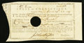 Colonial Notes:Connecticut, Connecticut Treasury Certificate £47.2s March 24, 1789 Anderson CT-25 Very Fine, HOC.. ...