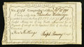 Colonial Notes:Connecticut, Connecticut Interest Certificate 5s February 14, 1791 AndersonCT-50 Very Fine, CC.. ...