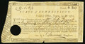 Colonial Notes:Connecticut, Connecticut Treasury Certificate £9.1s.6 1/2d June 1, 1782 AndersonCT-19 Very Fine, HOC.. ...