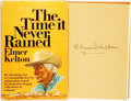 Books:Biography & Memoir, Elmer Kelton. SIGNED. The Time It Never Rained. Garden City:Doubleday, [1973]. First edition. Signed by the autho...