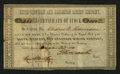 Obsoletes By State:Arkansas, Little Rock, AR- South-Western and Arkansas Mining Company 1 Share/$100 Dec. 20, 1850. ...