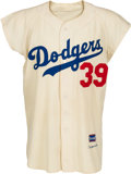 Baseball Collectibles:Uniforms, 1956 Roy Campanella Game Worn Brooklyn Dodgers Uniform, MEARS A8....