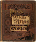 Books:Maps & Atlases, [Atlas] The People's Illustrated & Descriptive Family Atlas of the World. Chicago: People's Publishing, [1888]. Twel...