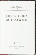 Books:Literature 1900-up, John Updike. SIGNED/LIMITED. The Witches of Eastwick. NewYork: Knopf, 1984. First edition, limited to 350 numbered ...