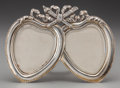 Silver Holloware, American:Other , A TIFFANY & CO. SILVER DOUBLE PICTURE FRAME, New York, NewYork, circa 1892-1902. Marks: TIFFANY & CO., 9129, MAKERS,3989...