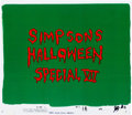 Animation Art:Production Cel, The Simpsons Halloween Special VII Title Production Cel(Fox, 1996).... (Total: 2 Items)