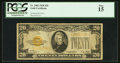 Small Size:Gold Certificates, Fr. 2402 $20 1928 Gold Certificate. PCGS Fine 15.. ...