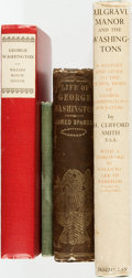 Books:Biography & Memoir, [George Washington.] Group of Four Books Relating to George Washington. Various publishers and dates.... (Total: 4 Items)