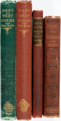 Books:Literature Pre-1900, [Literature.] Group of Four Books Containing Pre-1900 Literature.Various publishers and dates.... (Total: 4 Items)