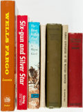 Books:Americana & American History, [Americana.] Group of Seven Books Relating to the Old West. Variouspublishers and dates.... (Total: 7 Items)