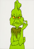 Animation Art:Color Model, Dr. Seuss' How The Grinch Stole Christmas ColorModel/Publicity Cel (MGM, 1966)....